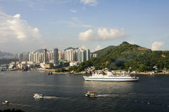 Victoria Harbour East Side Royalty Free Stock Images