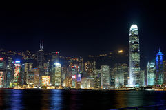 Victoria Harbour in Hong Kong Stock Image