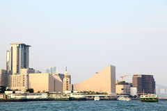 Victoria Harbour - Hong Kong royalty free stock images