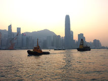 Victoria Harbour Hong Kong Royalty Free Stock Photos