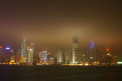 Victoria Harbour, Hong Kong Royalty Free Stock Photo