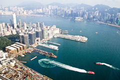 Victoria Harbour Royalty Free Stock Photo