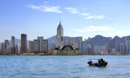 Victoria Harbour, Hong Kong Royalty Free Stock Photos