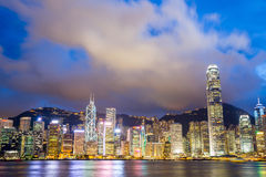 Victoria Harbour Hong Kong Royalty Free Stock Photo