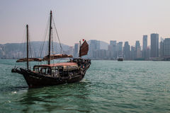 Victoria harbour. In hongkong china Stock Photography
