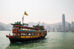 Victoria harbour. In hongkong china Royalty Free Stock Photography