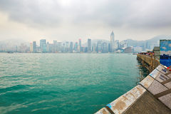 The Victoria Harbour Royalty Free Stock Images