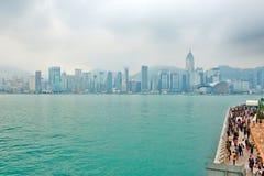 Victoria Harbour scenic Stock Photography