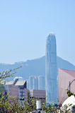 Victoria Harbour von Hong- Kongï ¼ Œfinancial-Mitte Lizenzfreie Stockfotos