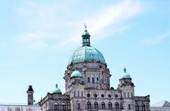 Victoria-het parlement Royalty-vrije Stock Afbeeldingen