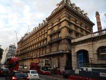Victoria-hotel Londen - het UK Royalty-vrije Stock Fotografie