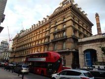 Victoria-hotel Londen - het UK Royalty-vrije Stock Afbeelding
