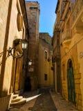 Victoria i Gozo, Malta Arkivfoto
