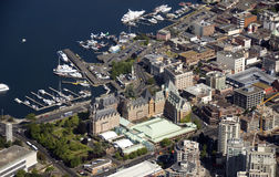 Victoria and Inner Harbour Royalty Free Stock Images