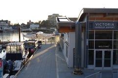 Victoria Inner Harbour Airport stockbild
