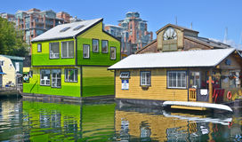 Victoria Inner Harbour, Fisherman Wharf Stock Image