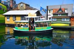 Victoria Inner Harbour, Fisherman Wharf Royalty Free Stock Photo
