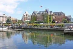 Victoria, isola di Vancouver Immagine Stock