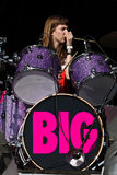 Victoria Jean Smith drummer of The Big Pink Stock Photography
