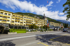 Free Victoria Jungfrau Grand Hotel & Spa In Interlaken Royalty Free Stock Photo - 60671195