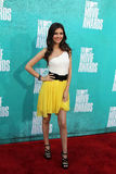 Victoria Justice arriving at the 2012 MTV Movie Awards Royalty Free Stock Images