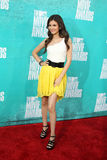 Victoria Justice arriving at the 2012 MTV Movie Awards Stock Photo