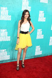 Victoria Justice arriving at the 2012 MTV Movie Awards Stock Photography