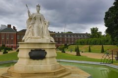 Victoria, Kensington-Paleis, Historische buildngs, Londen, Engeland Stock Foto