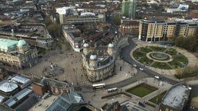 Victoria kvadrerar, Kingston Upon Hull, östlig ridning av Yorkshire Fotografering för Bildbyråer