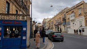 Victoria Main City of  Gozo island Royalty Free Stock Photos