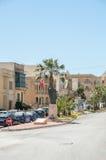 Victoria, Malta - 8. Mai 2017: Das Monument zu Papst John Paul II in Gozo-Insel in Malta Lizenzfreie Stockfotografie