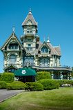 Victoria mansion. The Victorian mansion constructed in the Queen Anne style was built in Eureka California by lumber baron William Carson Royalty Free Stock Photos