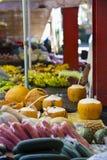 Victoria Market Mahe, Seychellerna Royaltyfria Bilder