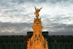 The Victoria Memorial of Buckingham Palace royalty free stock photo