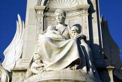 Victoria Memorial in Buckingham Palace, London, England, Europe Royalty Free Stock Photo
