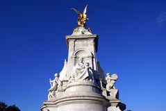 Victoria memorial, Buckingham Palace, London, England Royalty Free Stock Image