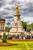 Victoria Memorial at Buckingham Palace, London Stock Photos