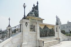 Victoria memorial Calcutta India Stock Photography