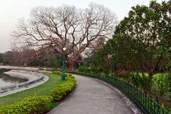 Victoria Memorial Garden Royalty Free Stock Photo