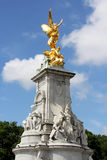 Victoria Memorial golden statue Stock Images
