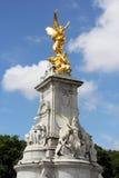 Victoria Memorial golden statue Stock Images