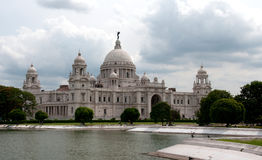 Victoria Memorial Hall in Colcutta Stock Photography