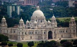Victoria Memorial Hall Kolkata Royaltyfri Fotografi