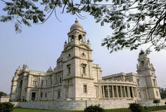 Victoria Memorial Hall in Kolkata, Indien Stockbilder