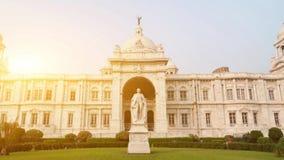 Victoria Memorial i Indien lager videofilmer