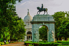 Victoria Memorial in India Stock Image