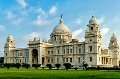 Victoria Memorial in India Stock Photography