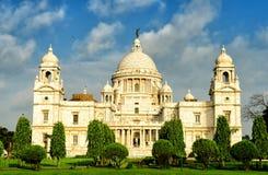 Victoria Memorial in India Stock Photo