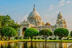 Victoria Memorial in India Stock Photography