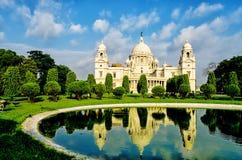 Victoria Memorial in India Royalty Free Stock Photos